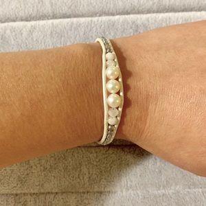 NEW Chan Luu Single Wrap Pearl Bracelet